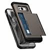Spigen Slim Armor CS Samsung Galaxy S8 Gunmetal Kılıf - Resim 1