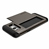 Spigen Slim Armor CS Samsung Galaxy S8 Plus Gunmetal Kılıf - Resim 3