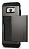 Spigen Slim Armor CS Samsung Galaxy S8 Plus Gunmetal Kılıf - Resim 5