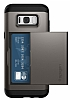 Spigen Slim Armor CS Samsung Galaxy S8 Plus Gunmetal Kılıf - Resim 6