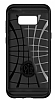 Spigen Slim Armor CS Samsung Galaxy S8 Plus Gunmetal Kılıf - Resim 2