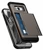 Spigen Slim Armor CS Samsung Galaxy S8 Plus Gunmetal Kılıf - Resim 1