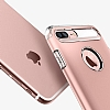 Spigen Slim Armor iPhone 7 Plus Rose Gold Kılıf - Resim: 3