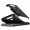 Spigen Slim Armor LG G6 Siyah Rubber Kılıf - Resim 3