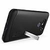 Spigen Slim Armor LG G6 Siyah Rubber Kılıf - Resim 2