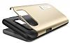Spigen Slim Armor Samsung Galaxy Note 5 Gold Kılıf - Resim 3