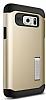 Spigen Slim Armor Samsung Galaxy Note 5 Gold Kılıf - Resim 1