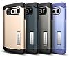 Spigen Slim Armor Samsung Galaxy Note 5 Koyu Mavi Kılıf - Resim 5