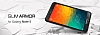 Spigen Slim Armor Samsung Galaxy Note 5 Koyu Mavi Kılıf - Resim 4