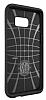 Spigen Slim Armor Samsung Galaxy S6 Edge Plus Gunmetal Kılıf - Resim 1