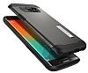 Spigen Slim Armor Samsung Galaxy S6 Edge Plus Gunmetal Kılıf - Resim 2