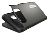 Spigen Slim Armor Samsung Galaxy S6 Edge Plus Gunmetal Kılıf - Resim 4