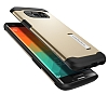 Spigen Slim Armor Samsung Galaxy S6 Edge Plus Gold Kılıf - Resim 2