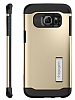 Spigen Slim Armor Samsung Galaxy S6 Edge Plus Gold Kılıf - Resim 5