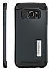 Spigen Slim Armor Samsung Galaxy S6 Edge Plus Koyu Mavi Kılıf - Resim 5