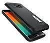 Spigen Slim Armor Samsung Galaxy S6 Edge Plus Koyu Mavi Kılıf - Resim 2