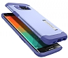 Spigen Slim Armor Samsung Galaxy S6 Edge Plus Mor Kılıf - Resim 3