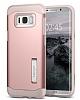 Spigen Slim Armor Samsung Galaxy S8 Plus Rose Gold Kılıf - Resim 4