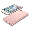 Spigen Thin Fit iPhone 6 Plus / 6S Plus Rose Gold Rubber Kılıf - Resim: 7