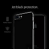 Spigen Thin Fit iPhone 7 Plus Jet Black Rubber Kılıf - Resim: 5