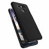 Spigen Thin Fit LG G6 Siyah Rubber Kılıf - Resim 4