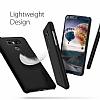 Spigen Thin Fit LG G6 Siyah Rubber Kılıf - Resim 2