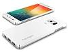 Spigen Thin Fit Samsung Galaxy S6 Edge Plus Beyaz Kılıf - Resim 1