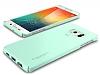 Spigen Thin Fit Samsung Galaxy S6 Edge Plus Yeşil Kılıf - Resim 1