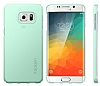 Spigen Thin Fit Samsung Galaxy S6 Edge Plus Yeşil Kılıf - Resim 3