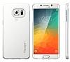 Spigen Thin Fit Samsung Galaxy S6 Edge Plus Beyaz Kılıf - Resim 3