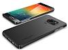Spigen Thin Fit Samsung Galaxy S6 Edge Plus Siyah Kılıf - Resim 1