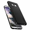 Spigen Thin Fit Samsung Galaxy S8 Plus Siyah Rubber Kılıf - Resim 4