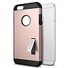 Spigen Tough Armor iPhone 6 Plus / 6S Plus Rose Gold Kılıf - Resim: 1