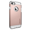 Spigen Tough Armor iPhone 7 Rose Gold Kılıf - Resim: 1