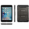 Spigen Tough Armor Military iPad Mini 4 Standlı Gunmetal Kılıf - Resim: 4