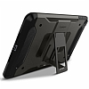 Spigen Tough Armor Military iPad Mini 4 Standlı Gunmetal Kılıf - Resim: 5