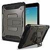 Spigen Tough Armor Military iPad Mini 4 Standlı Gunmetal Kılıf - Resim: 1
