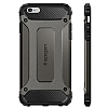 Spigen Tough Armor Tech iPhone 6 Plus / 6S Plus Gunmetal Kılıf - Resim: 7