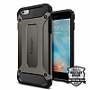 Spigen Tough Armor Tech iPhone 6 Plus / 6S Plus Gunmetal Kılıf - Resim: 1