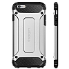Spigen Tough Armor Tech iPhone 6 Plus / 6S Plus Silver Kılıf - Resim: 7