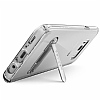 Spigen Ultra Hybrid S Samsung Galaxy S8 Ultra Koruma Şeffaf Kılıf - Resim 2