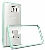 Spigen Ultra Hybrid Samsung Galaxy Note 5 Yeşil Kılıf - Resim 2