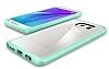 Spigen Ultra Hybrid Samsung Galaxy Note 5 Yeşil Kılıf - Resim 4