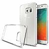 Spigen Ultra Hybrid Samsung Galaxy S6 Edge Plus Şeffaf Kılıf - Resim 6