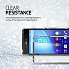 Spigen Ultra Hybrid Sony Xperia Z3 Plus Şeffaf Uzay Grisi Kılıf - Resim 5