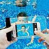 Spigen Universal Waterproof Su Geçirmez Şeffaf Kılıf - Resim 3