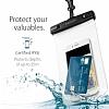 Spigen Universal Waterproof Su Geçirmez Şeffaf Kılıf - Resim 5