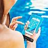 Spigen Universal Waterproof Su Geçirmez Şeffaf Kılıf - Resim 4