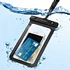 Spigen Universal Waterproof Su Geçirmez Siyah Kılıf - Resim 4