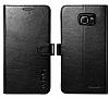 Spigen Wallet Samsung Galaxy Note 5 Standlı Kapaklı Siyah Deri Kılıf - Resim 2
